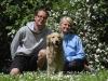 Jeannine und Jörg mit Joy